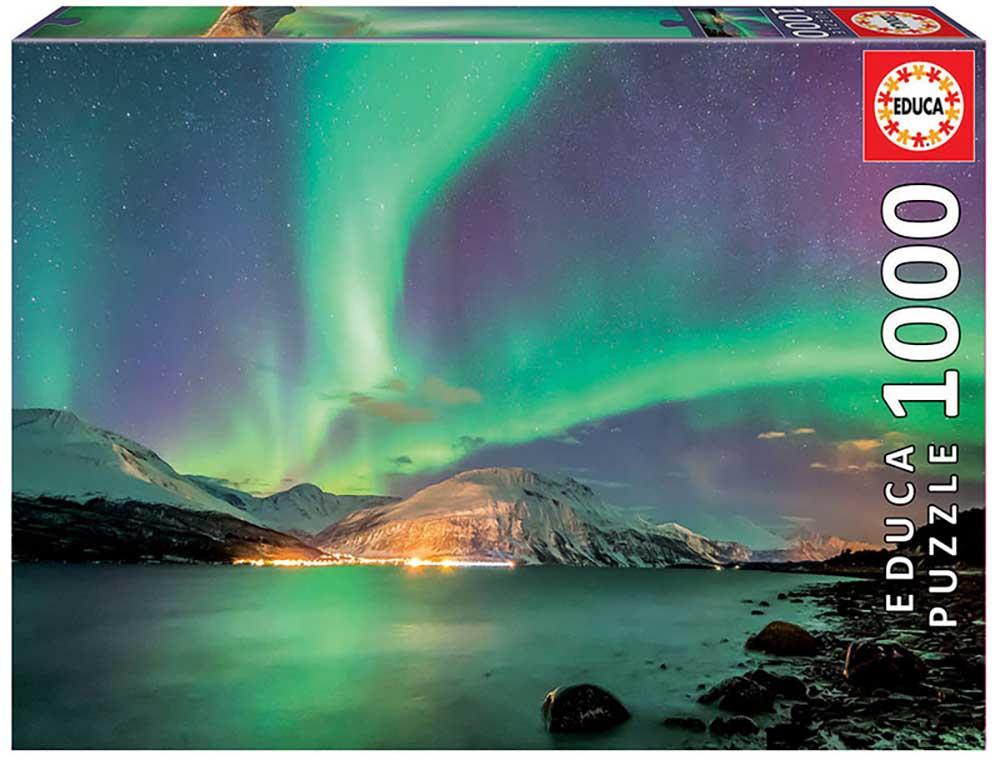 Image of   Aurora Borealis, 1000 brikker