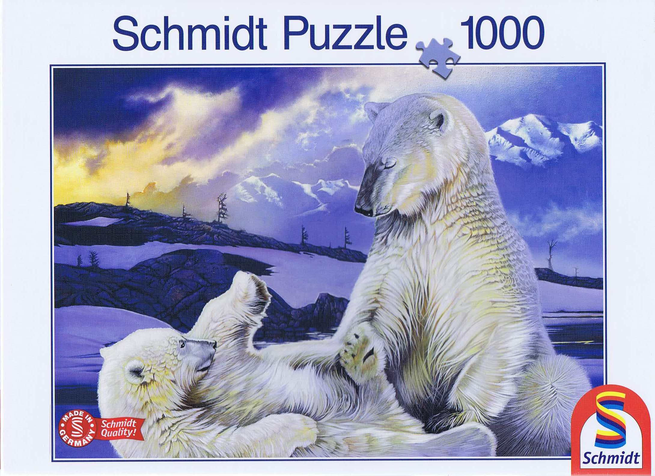 Image of   Polar Bears, 1000 brikker