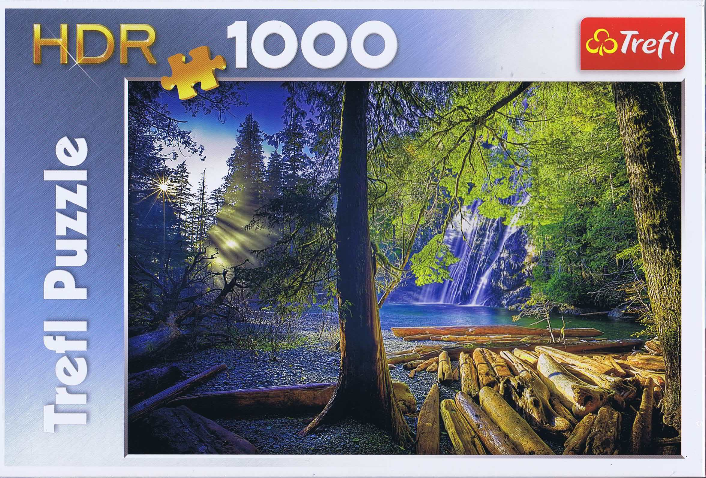 Image of   Mysterious forrest, 1000 brikker