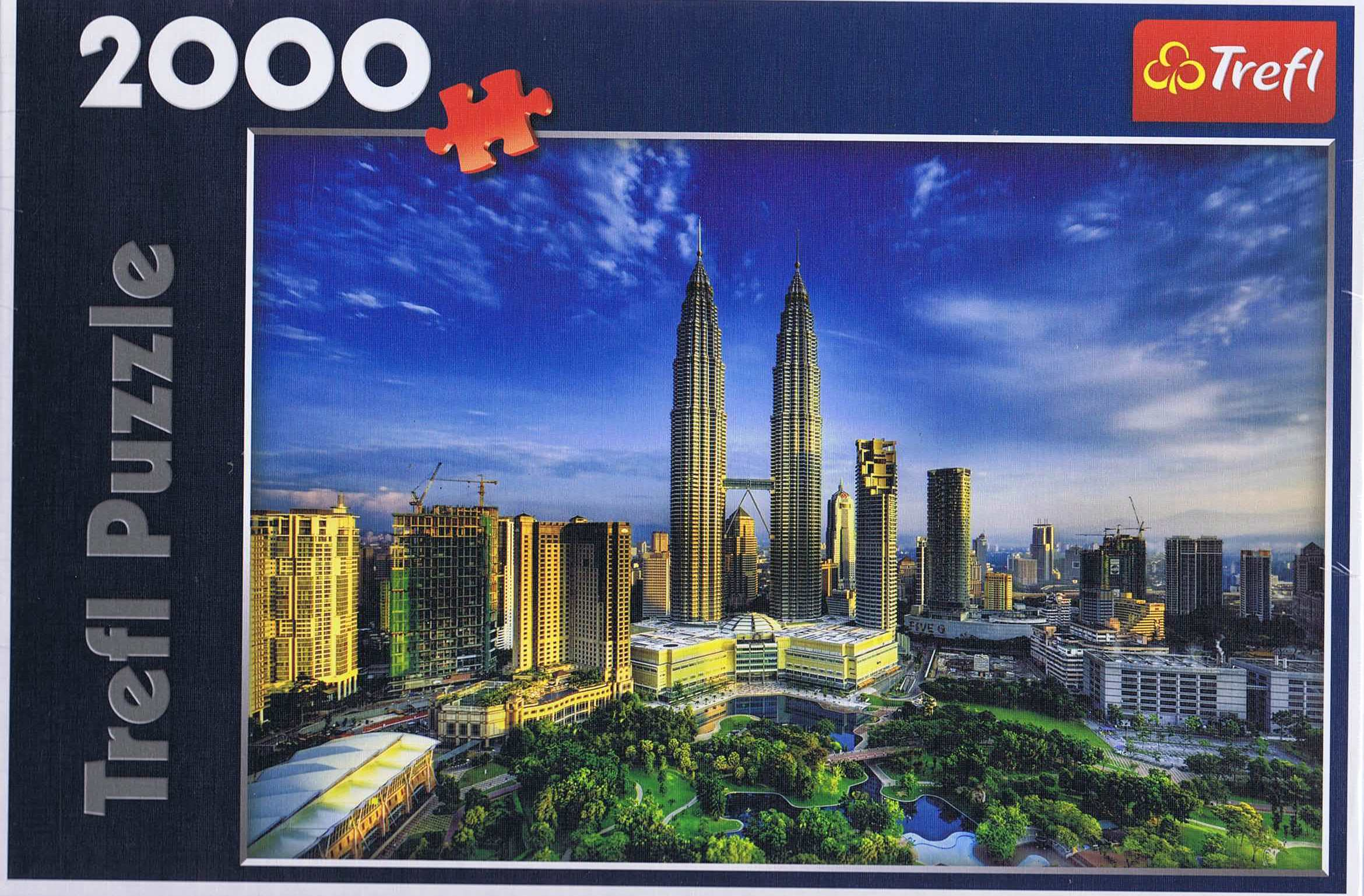 Image of   Petronas Twin Towers, 2000 brikker