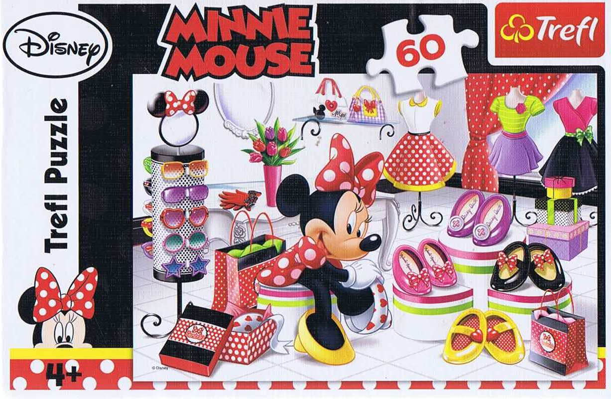 Image of   Minnie Mouse, 60 brikker