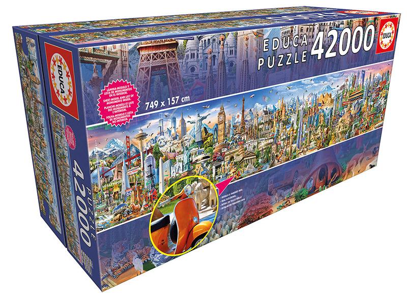 Image of   Around the World, 42000 brikker