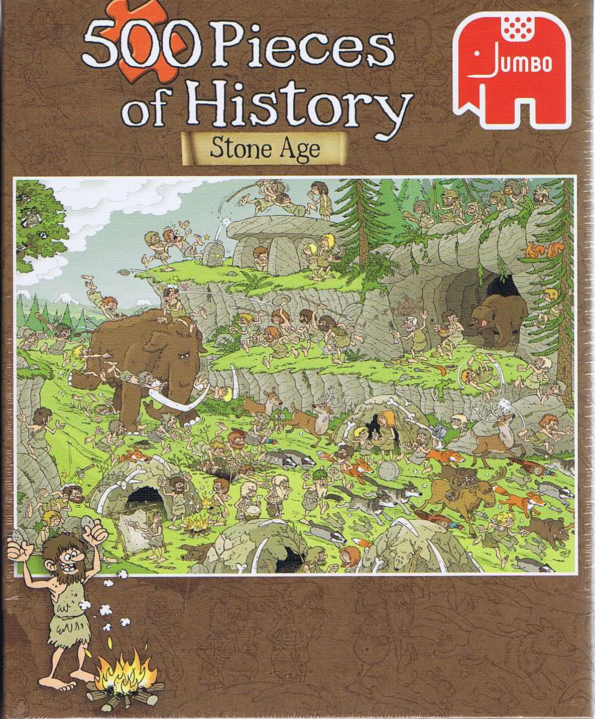 Image of 500 pieces of History - Stoneage