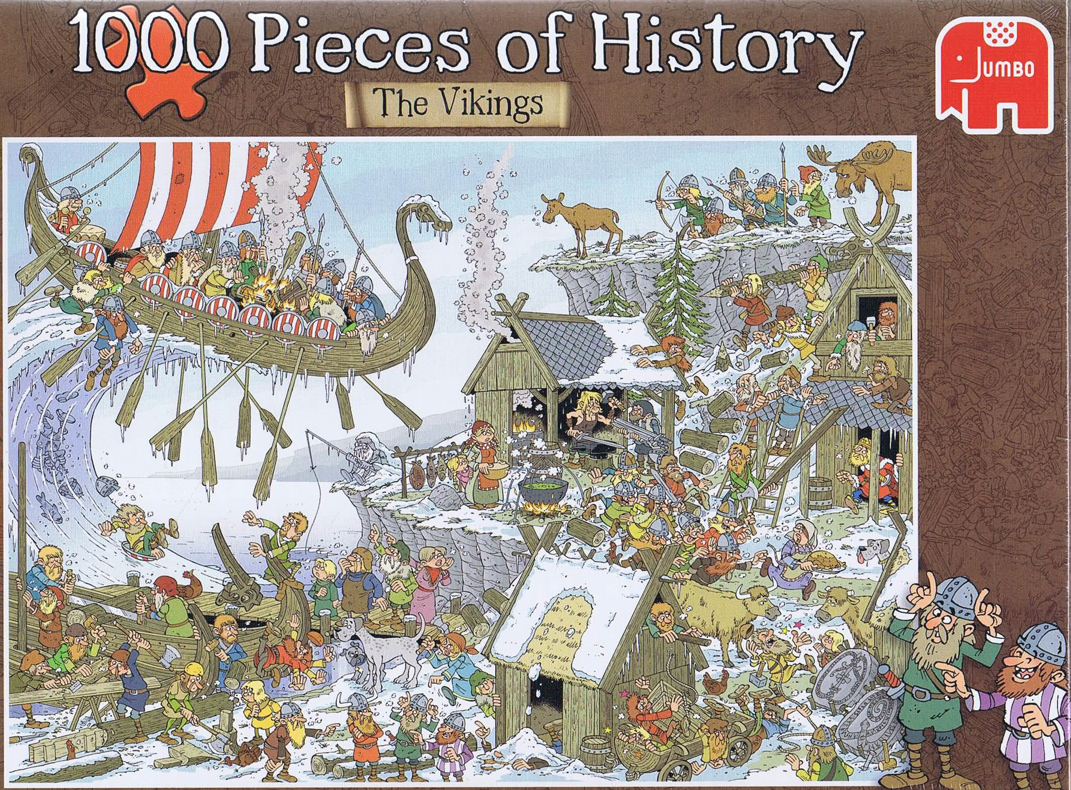 Image of   1000 Pieces of History - The Vikings