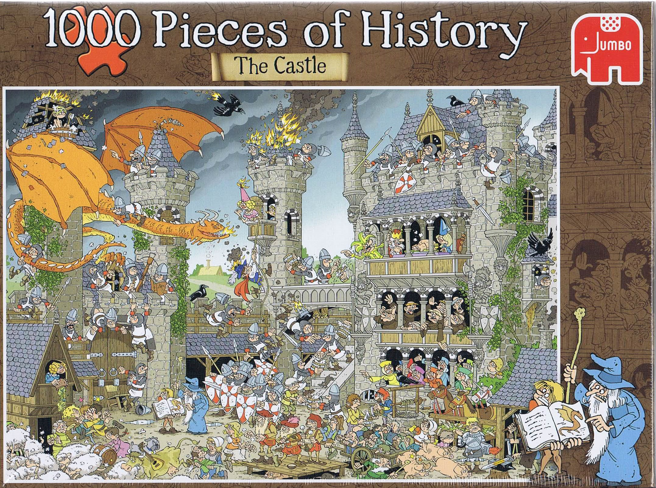 Image of   1000 Pieces of History - The Castle
