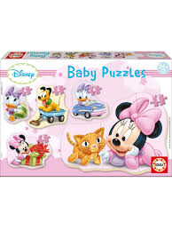 Image of   Baby Puzzles - Minnie, 3-5 brikker