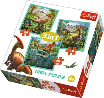 Image of   3-i-1 World of dinosaur