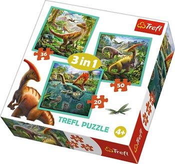 Image of   3-i-1 World of dinosaur