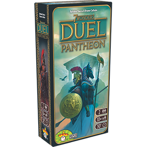 7 Wonders Duel Pantheon - dansk