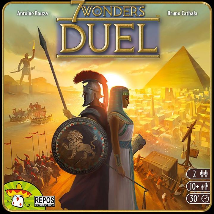 Image of   7 Wonders Duel - dansk