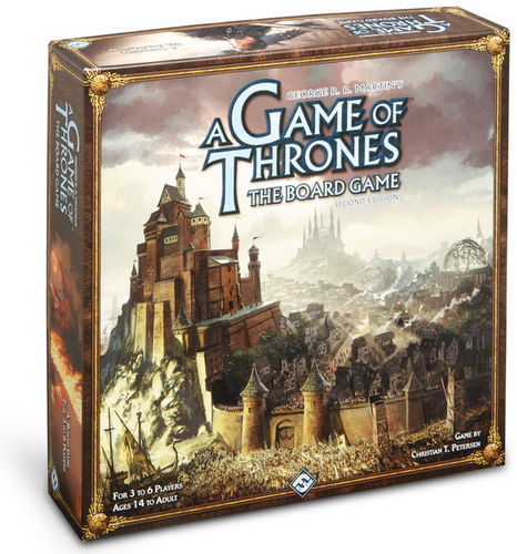 Image of   Game of Thrones: The Board Game 2nd edition