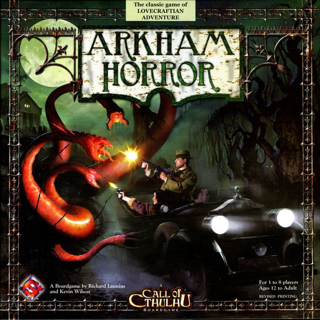 Image of   Arkham Horror 2nd edition