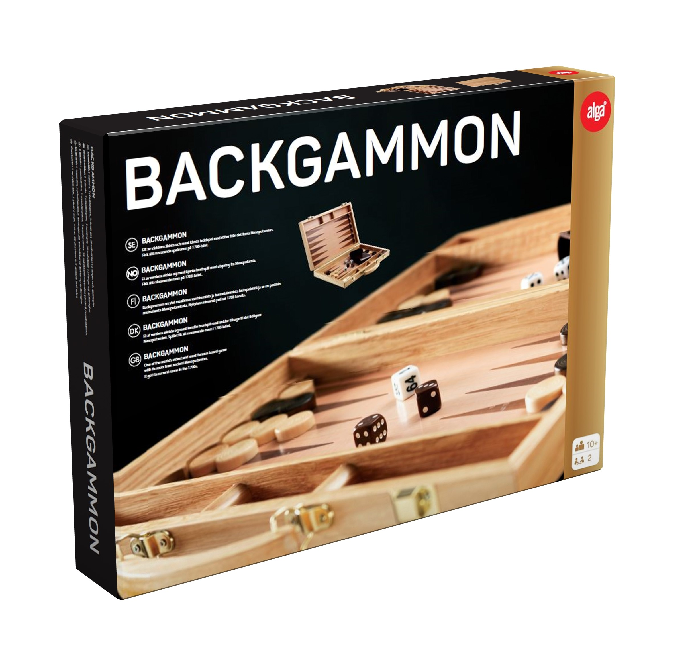 Image of   Backgammon fra Alga