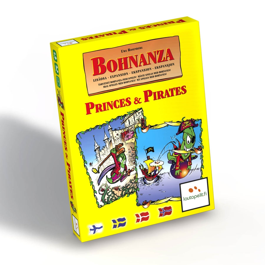 Image of   Bohnanza - Princes and Pirates