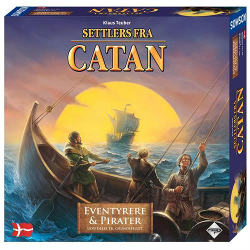Image of   Settlers fra Catan - Eventyrere og pirater