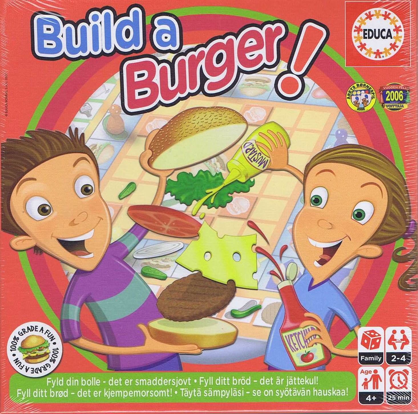 Image of   Build a Burger