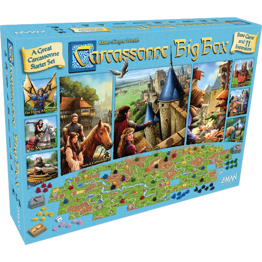 Image of   Carcassonne Big Box