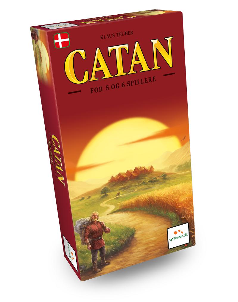 Image of   Settlers fra Catan - udvidelse 5-6 spillere