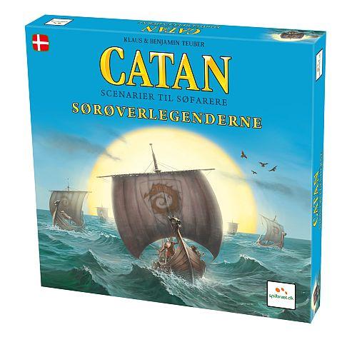 Image of   Settlers fra Catan - Sørøverlegenderne