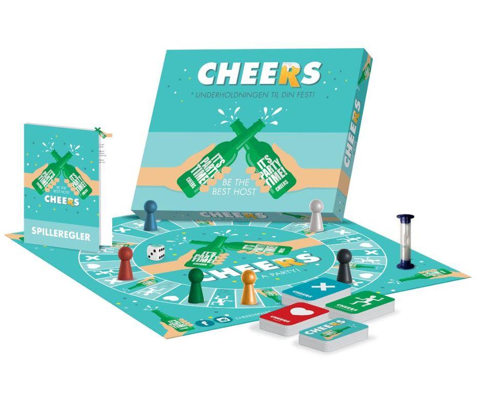 Image of   Cheers: Underholdningen til din fest