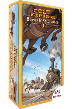 Image of   Colt Express: Horses & Stagecoach