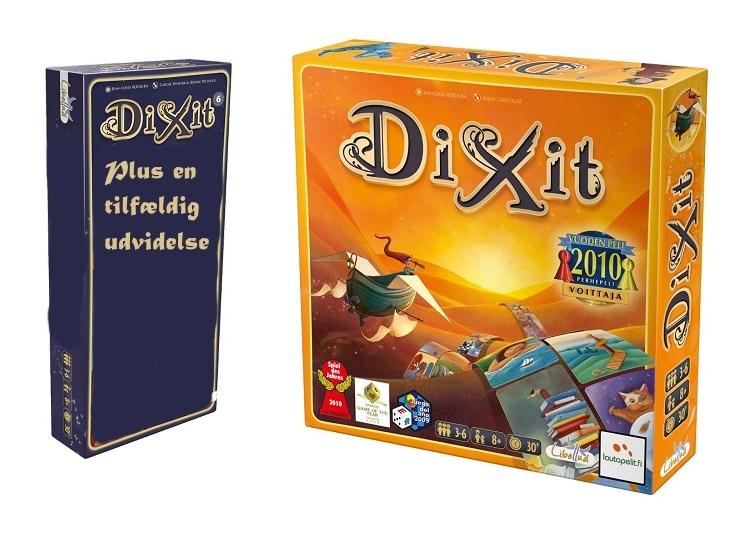 Image of   Dixit + en tilfældig udvidelse