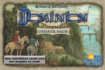 Image of   Dominion 2nd Edition Update Pack