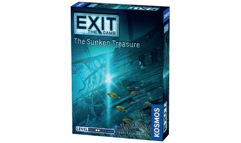 Image of   EXIT: The Game - The Sunken Treasure