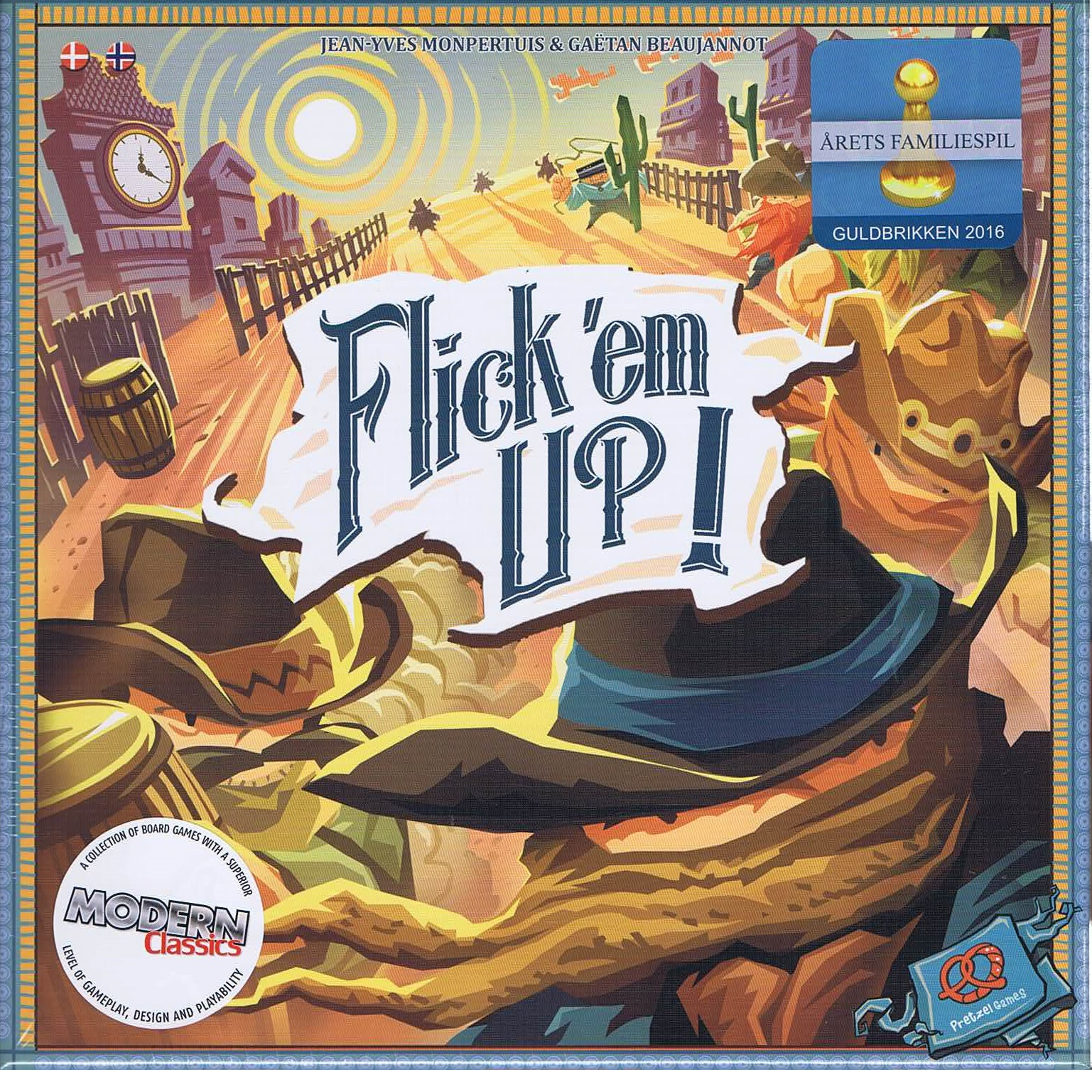 Image of   Flick'em Up! - Dansk