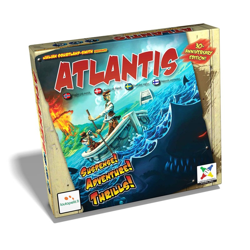 Image of   Atlantis: Flugten fra Atlantis