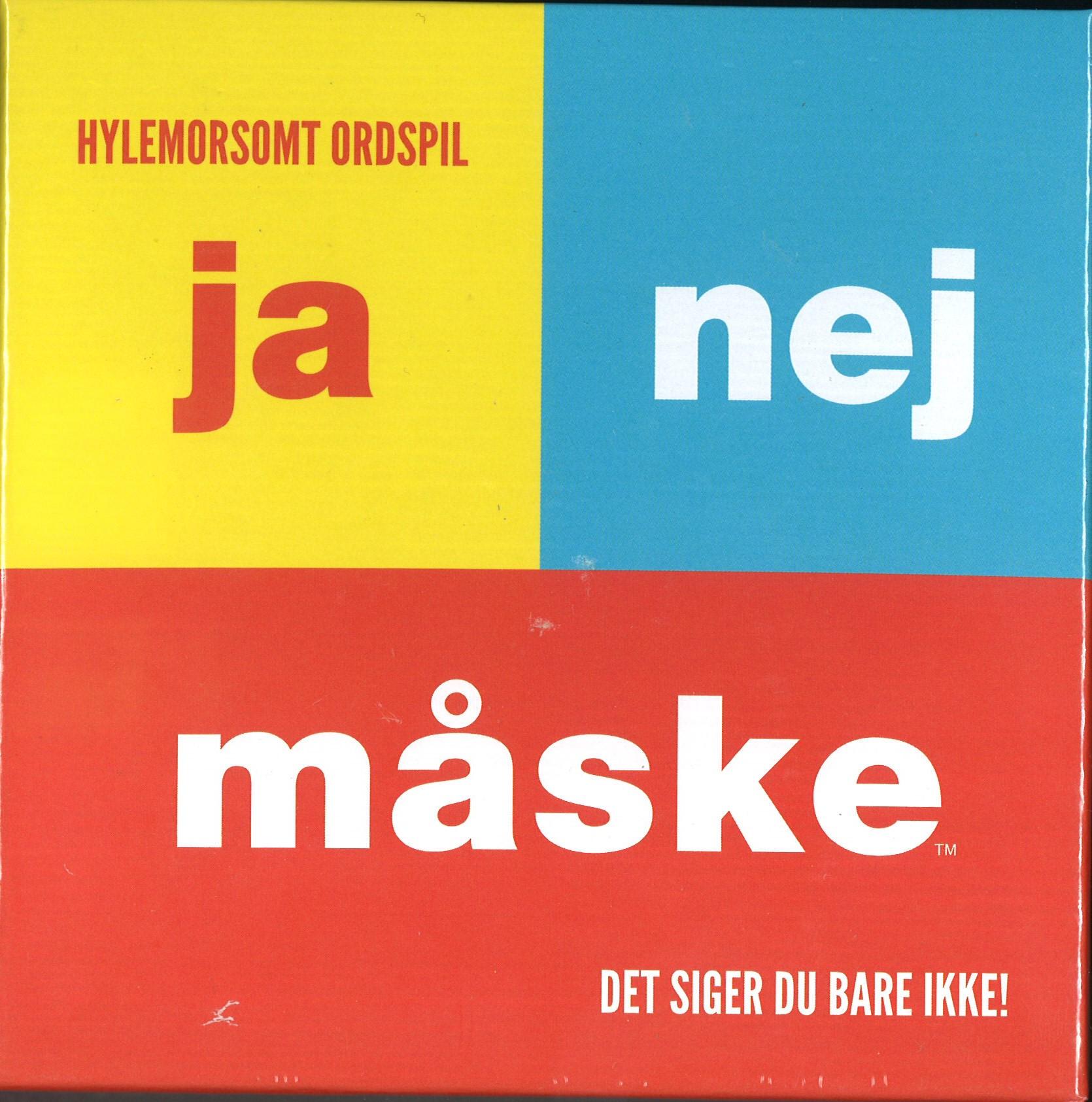 Image of   Ja Nej Måske