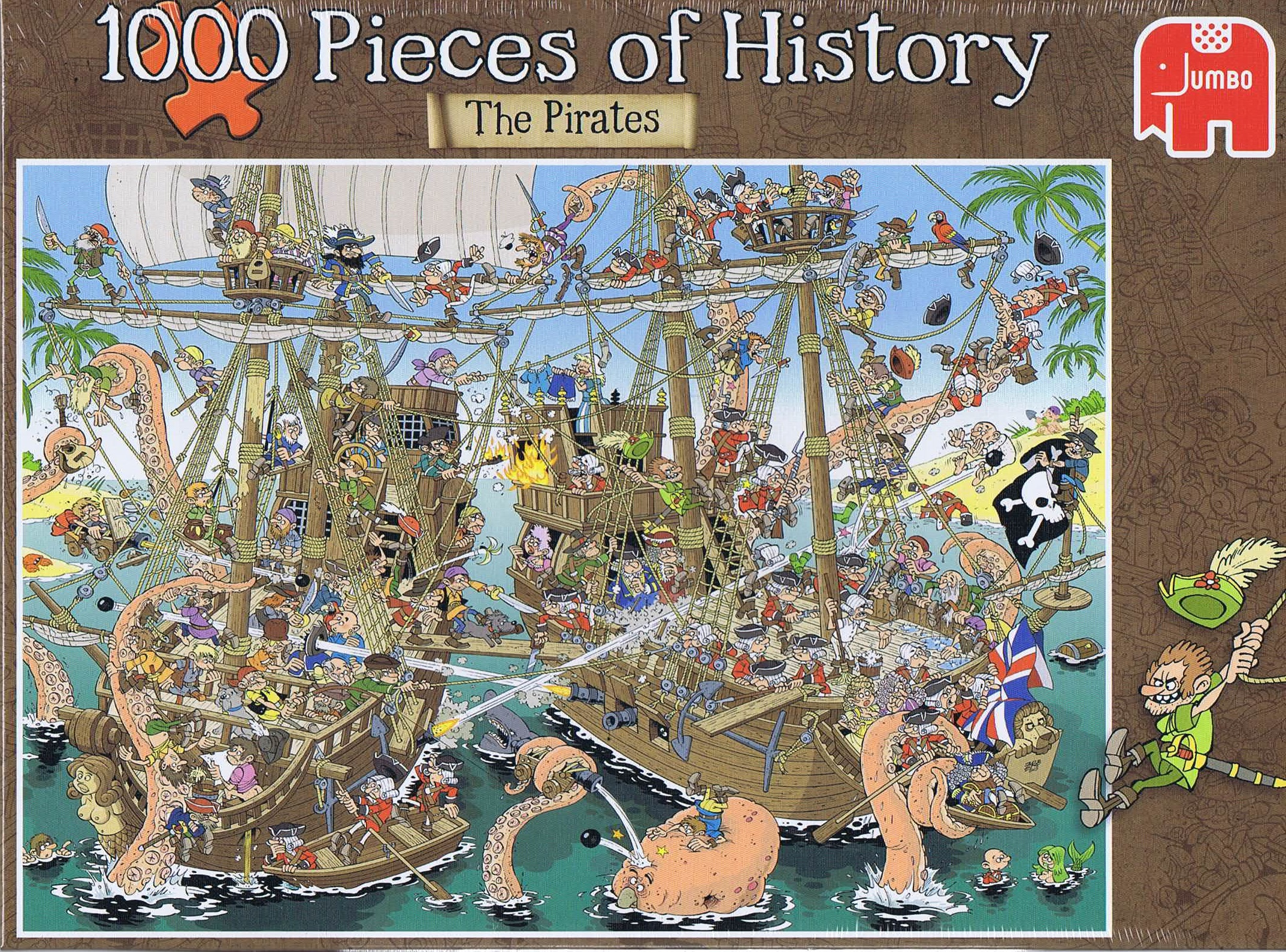 Image of   1000 Pieces of History - The Pirates