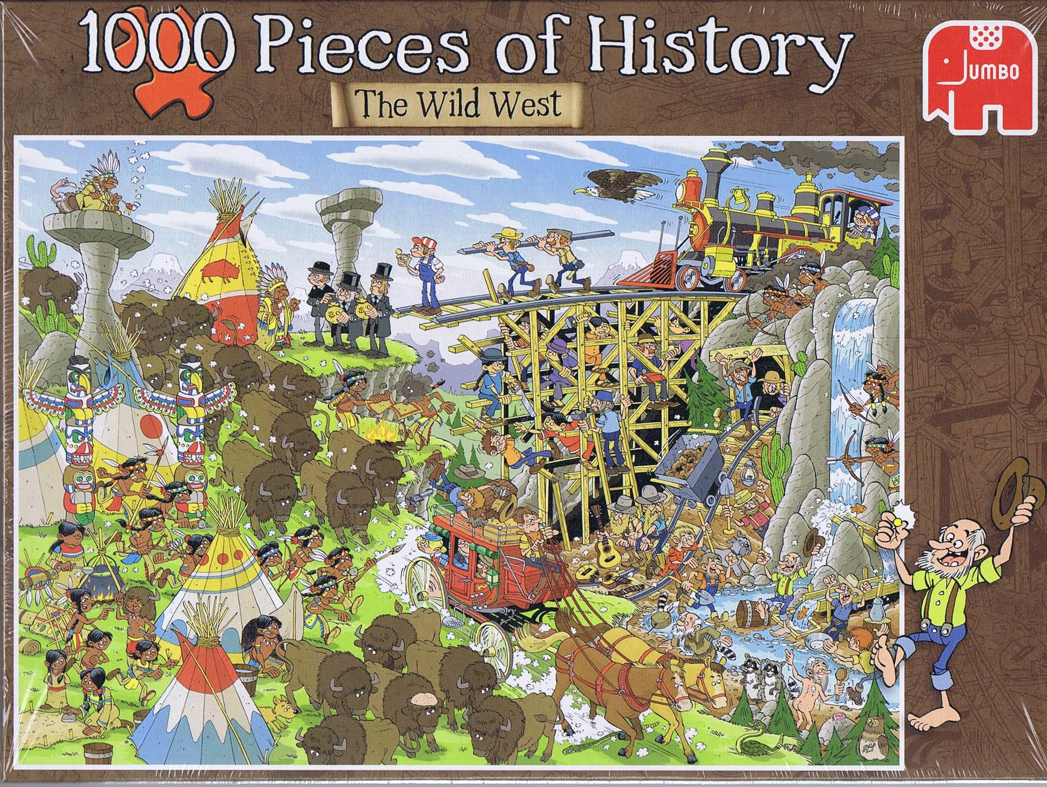 Image of 1000 Pieces of History - The Wild West
