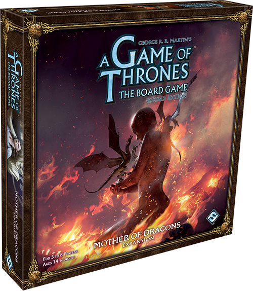 Image of   Game of Thrones: The Board Game 2nd edition: Expansion Mother of Dragons