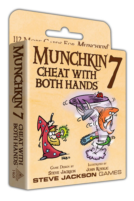 Image of   Munchkin 7, Cheat with both hands