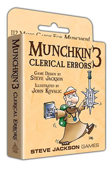 Image of   Munchkin 3, Clerical Errors