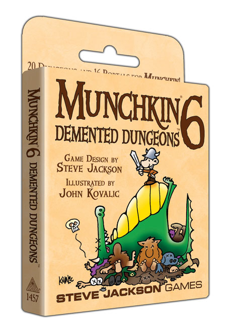 Image of   Munchkin 6, Demented Dungeons