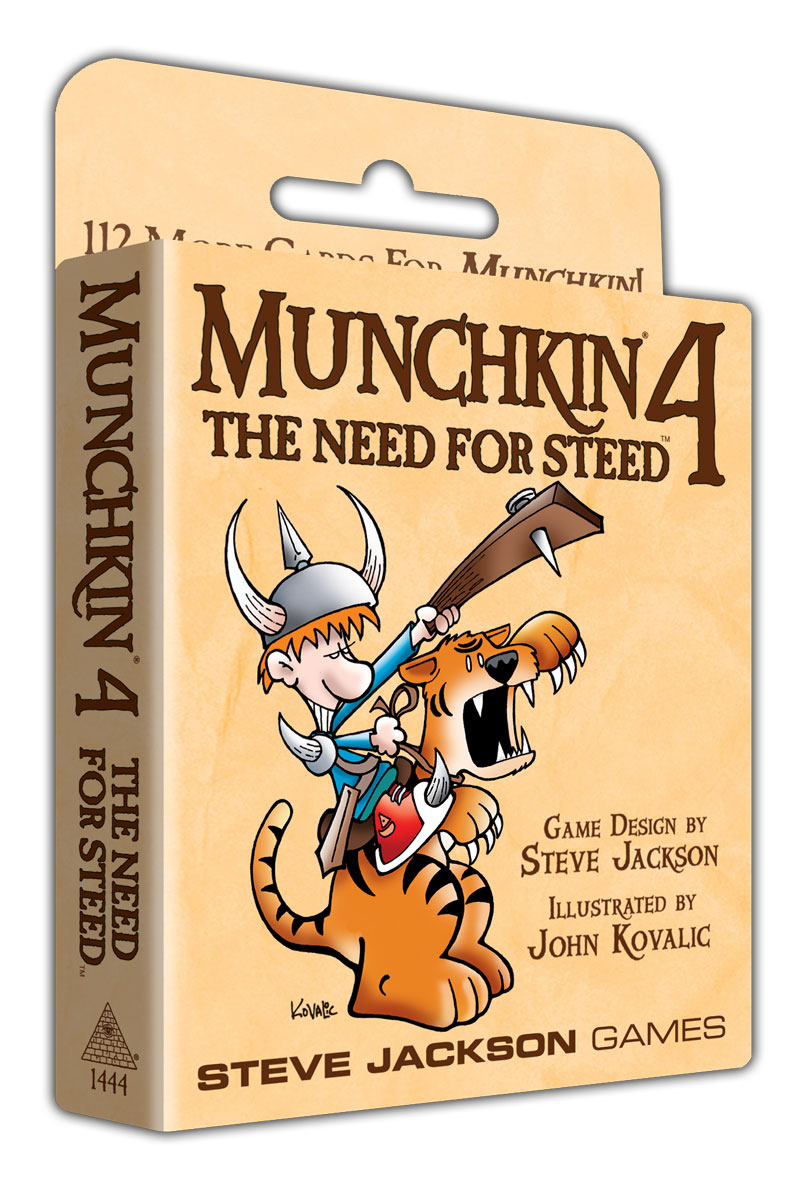 Image of   Munchkin 4, The need for steed