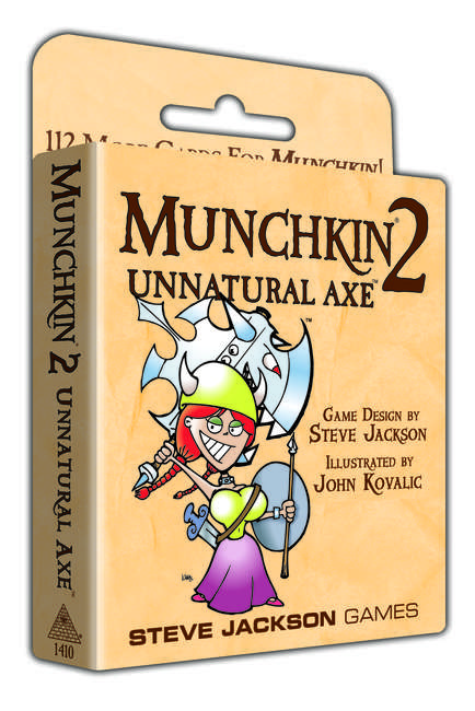 Image of   Munchkin 2, Unnatural Axe