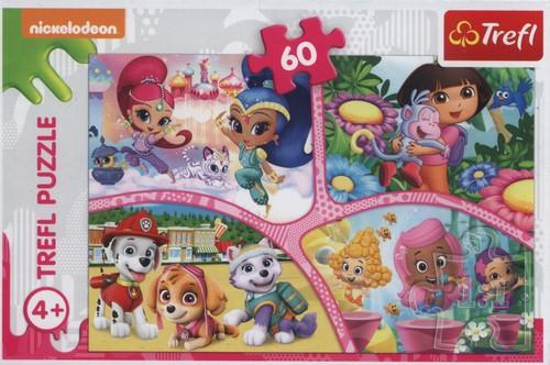 Image of   Nickelodeon - Bedste Venner for Altid, 60 brikker