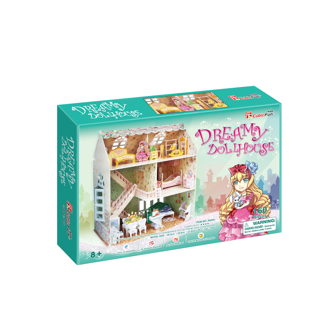 Image of   Dreamy DollHouse 160 brikker