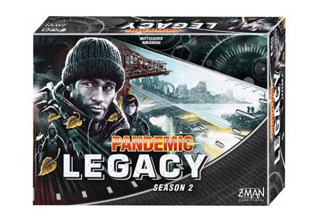 Image of   Pandemic Legacy Season 2 black