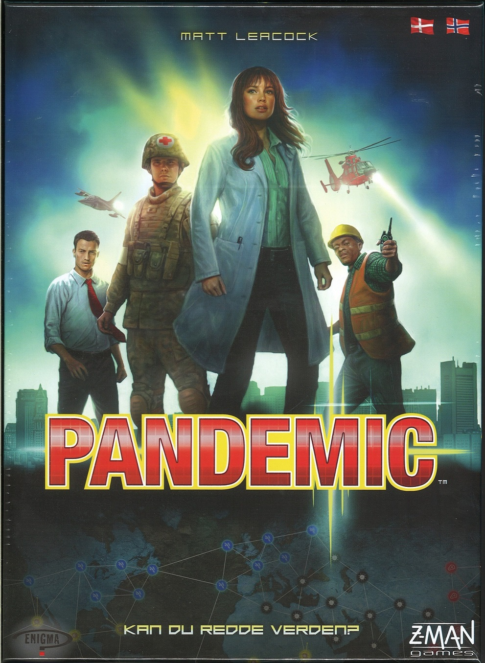 Image of   Pandemic - dansk