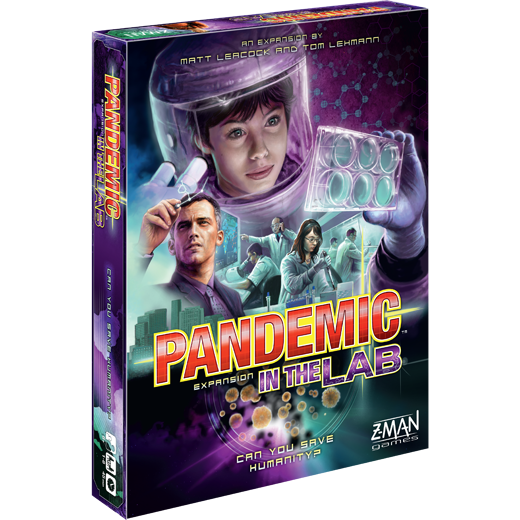 Image of   Pandemic: in the lab