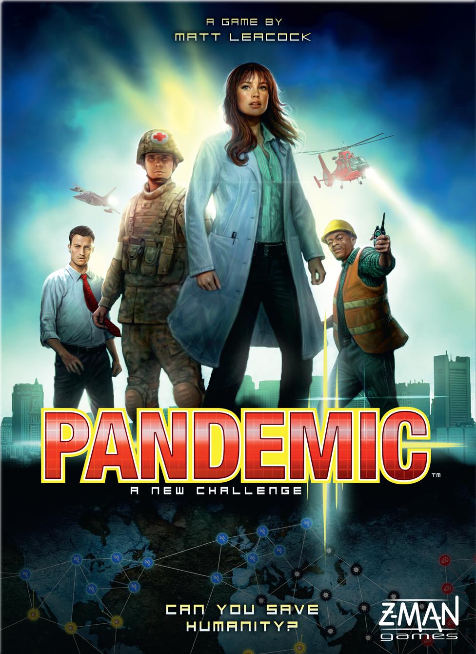 Image of   Pandemic - Engelsk