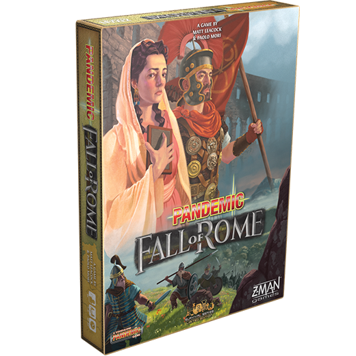 Image of   Pandemic: Fall of Rome