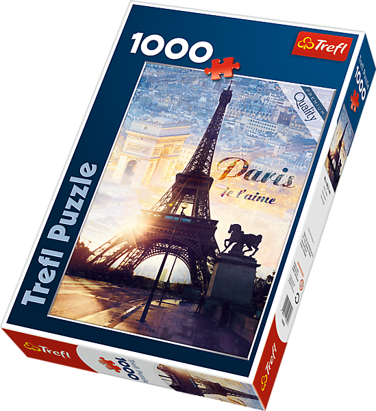 Image of   Paris at Dawn, 1000 brikker