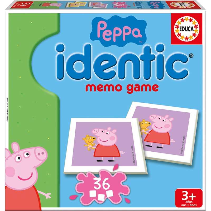 Gurli Gris vendespil (Peppa Pig Identic Memo)