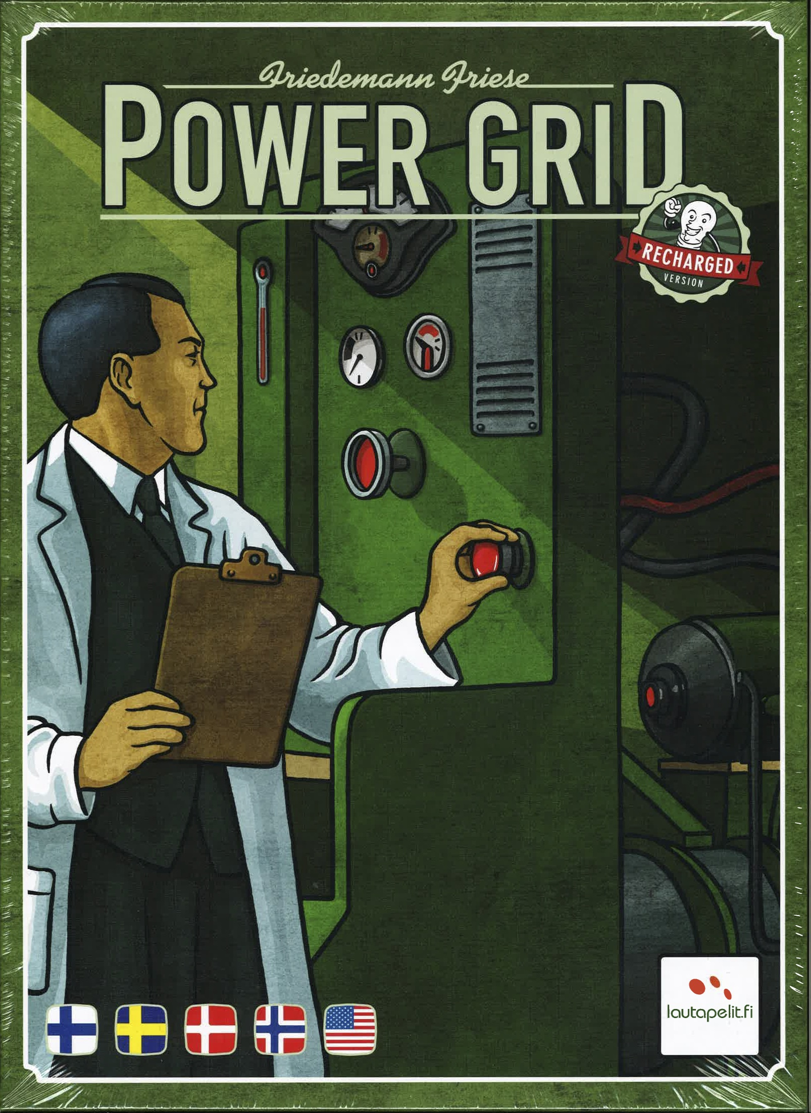 Image of   Power Grid Recharged - Dansk