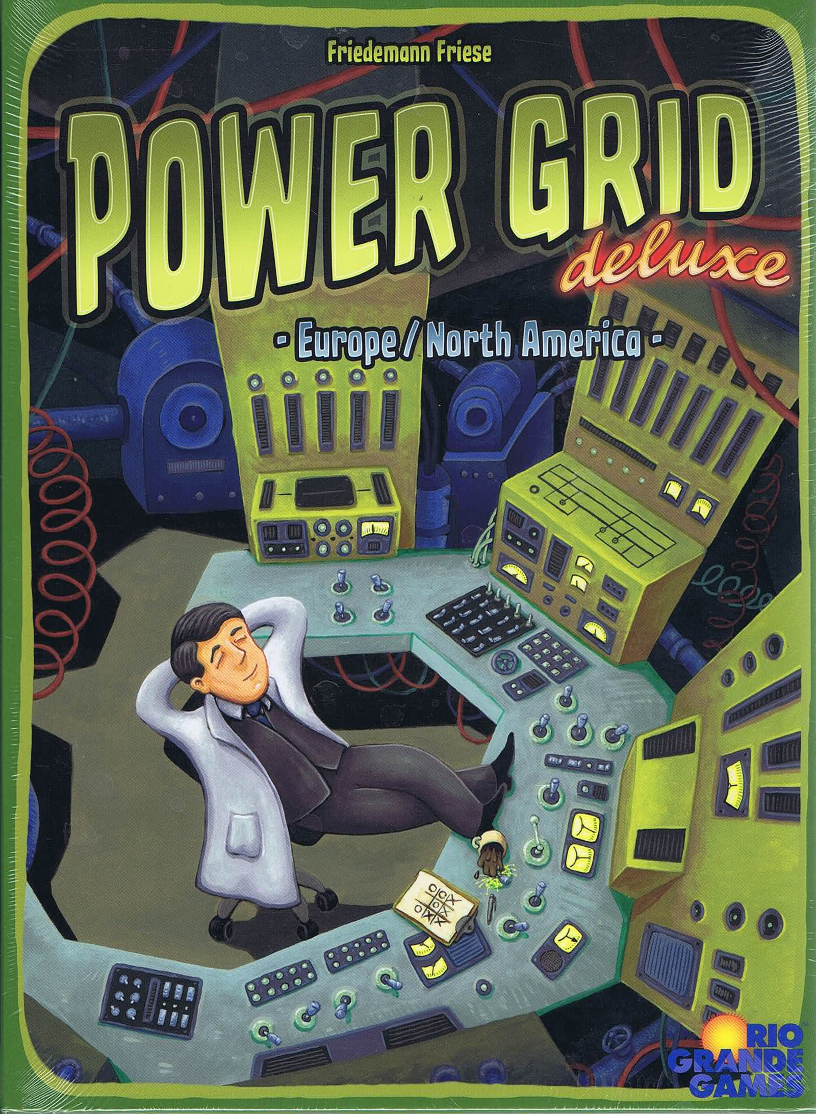 Image of   Power Grid Deluxe eng. version
